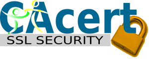 Powered by CAcert SSL Security
